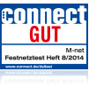 Connect Festnetztest: gut