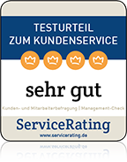 Service Rating Siegel