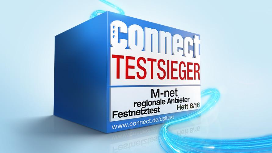 Das beste Netz gibt's bei M-net