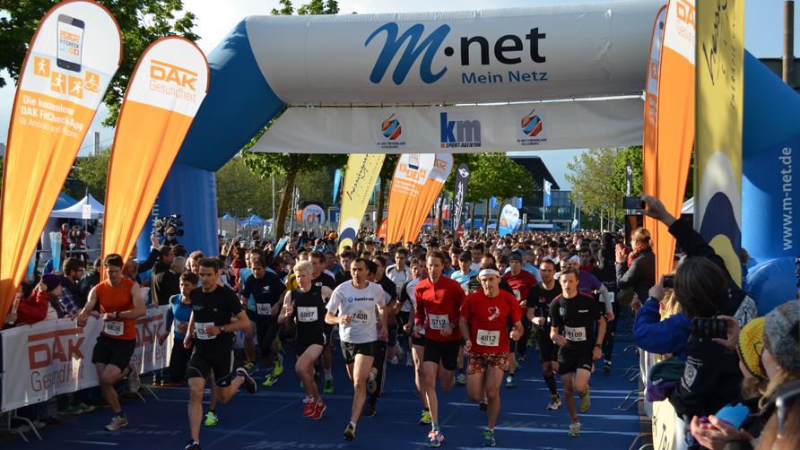 M-net Firmenlauf: Jetzt für Lauftreff anmelden!