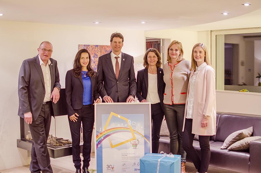 M-net setzt Unterstützung für Ronald McDonald Haus München am Deutschen Herzzentrum fort