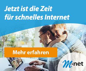 Schnelles Internet von M-Net gibt es hier im Shop