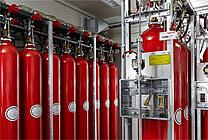 Stickstoff-Gaslöschanlage