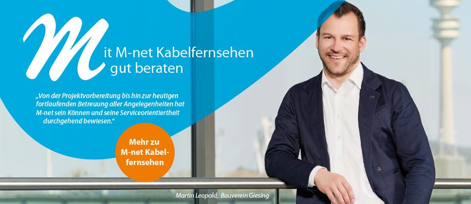 M-net Wohnungswirtschaft Bauverein