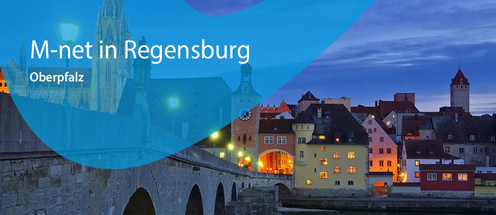 M-net in Regensburg / Oberpfalz
