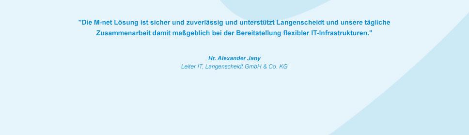 M-net Kunde Langenscheidt GmbH & Co. KG