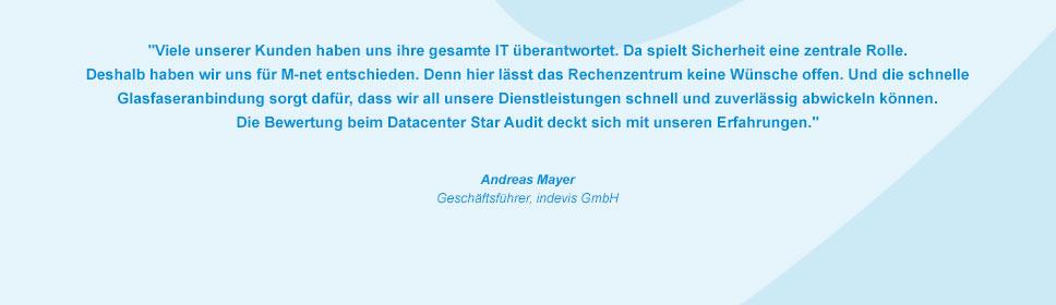 M-net Kunde indevis GmbH