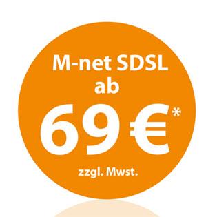 M-net Internet SDSL