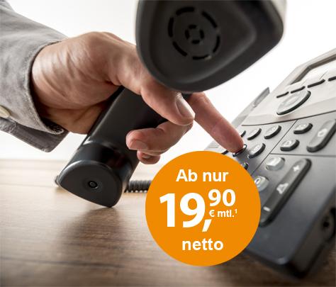 ISDN als Zusatzoption buchen