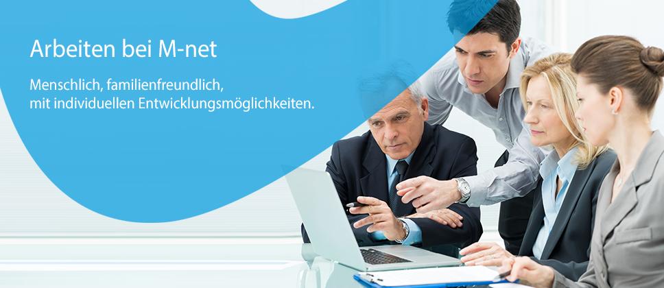 Arbeiten bei M-net