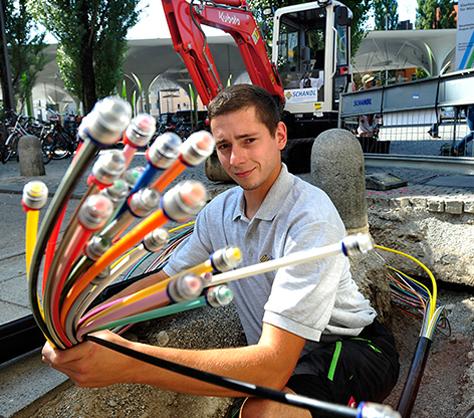 M-net Glasfaserausbau Kommunen