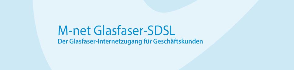 M-net Glasfaser-SDSL