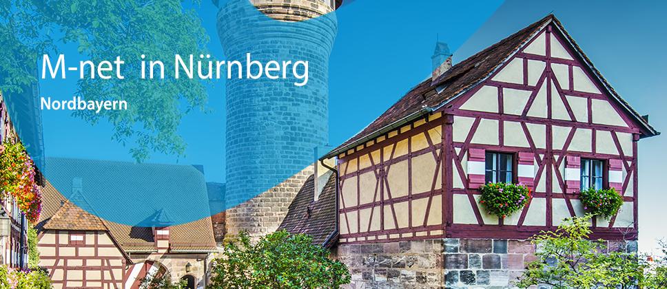 M-net in Nürnberg / Nordbayern